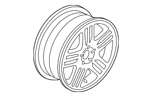 Wheel, Alloy - Volvo (30664607)