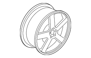 Wheel, Alloy - Volvo (31202244)