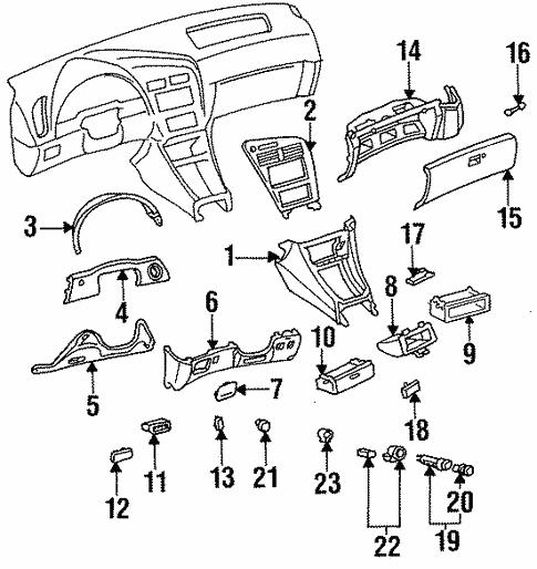 1999 Toyota Celica Engine Diagram