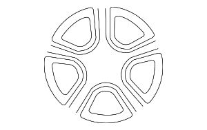 Wheel, Alloy - Subaru (28111FE220)