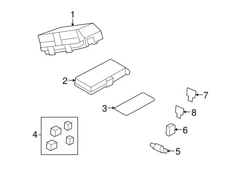 oem fuse relay for 2007 saturn aura. Black Bedroom Furniture Sets. Home Design Ideas