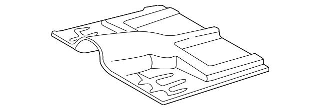 1995 2005 Gm Floor Pan 12546623