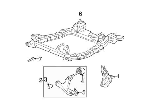 oem 2006 saturn vue suspension components parts. Black Bedroom Furniture Sets. Home Design Ideas