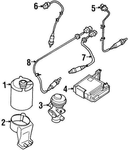 Powertrain Control For 1997 Infiniti J30