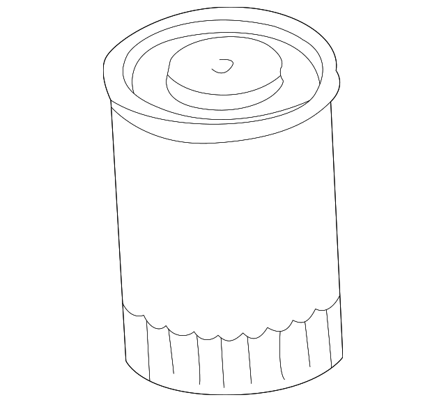 1984 2002 Gm Pf1218 Oil Filter 25160561