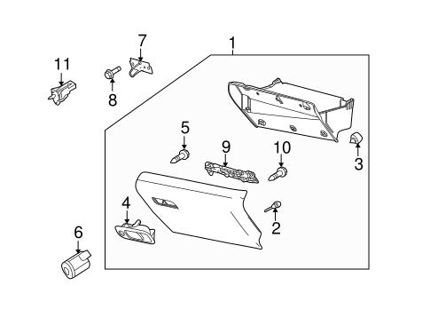 glove box for 2015 lincoln mkt. Black Bedroom Furniture Sets. Home Design Ideas