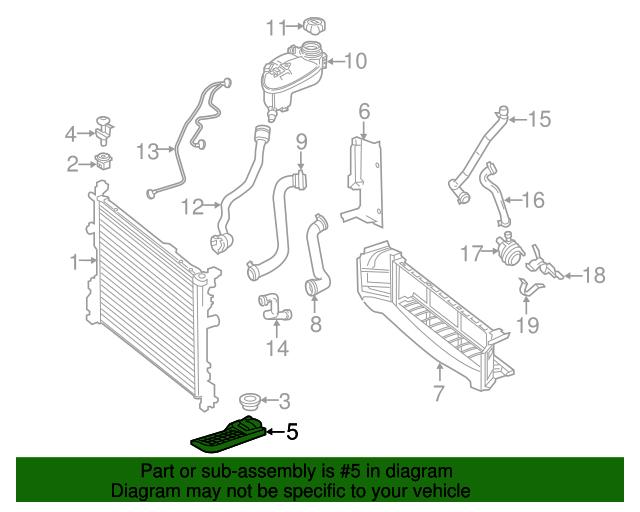 Radiator lower bracket mercedes benz 246 504 05 40 for Mercedes benz spare parts price list