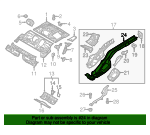 Side Rail - Audi (5Q0-803-506-AH)