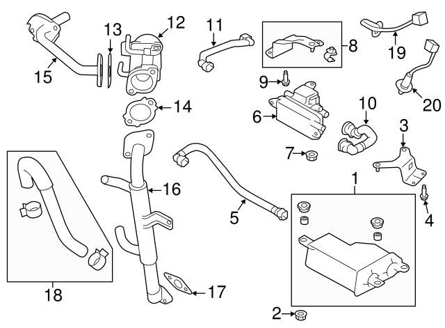 2014 2019 Subaru Ft Oxygen Sensor 22641aa650