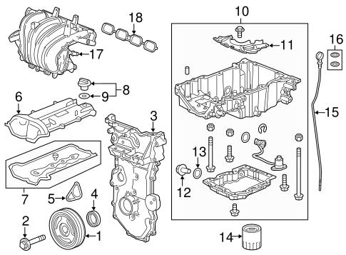engine parts for 2016 buick regal | gm parts online  gm parts online