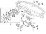 Light Sensor - Kia (97253-D4060)