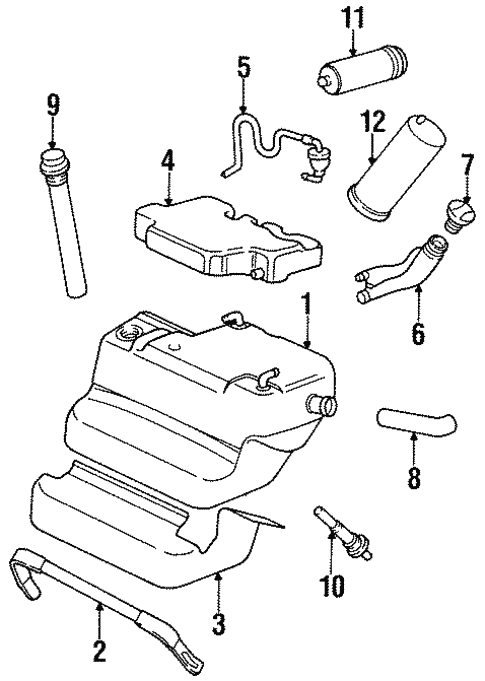Fuel System Components For 1998 Porsche 911