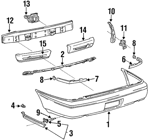 Genuine Oem Bumper Components