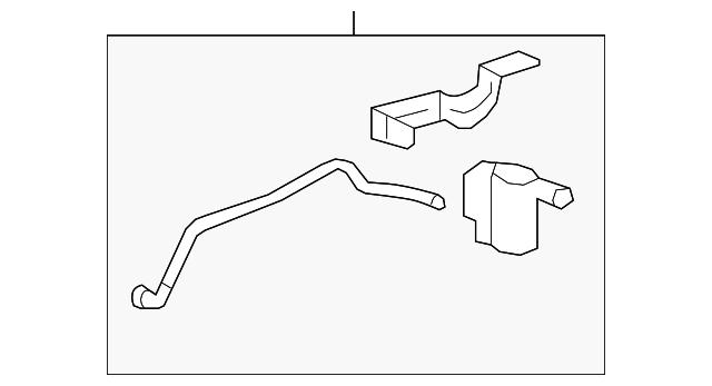 vapor canister purge solenoid  requires 19257603 jumper