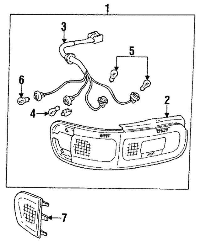 1990 1993 Toyota Celica Socket Wire 81555 2b090