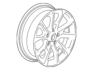 Wheel, Alloy - GM (22968927)