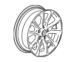 Wheel, Alloy- PART NUMBER CHANGED TO 84450624