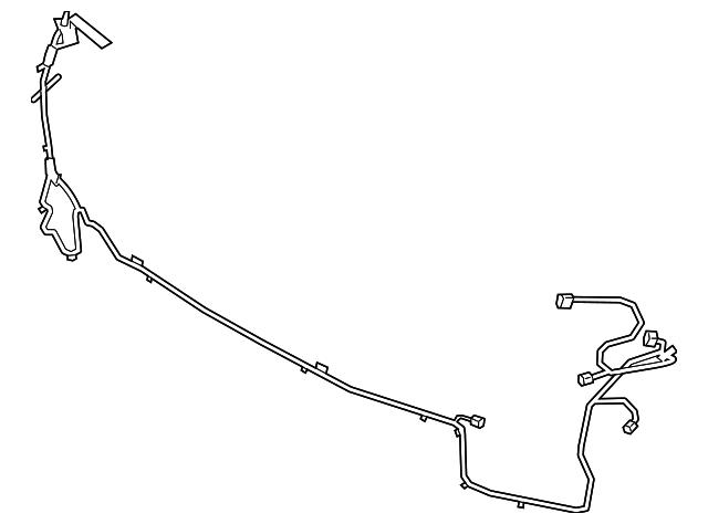 bmw x5 wiring harness 61128712283 2019 2020 bmw x5 parking aid system wiring harness  2019 2020 bmw x5 parking aid system