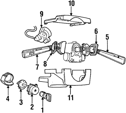 Switches For 1997 Volvo 850