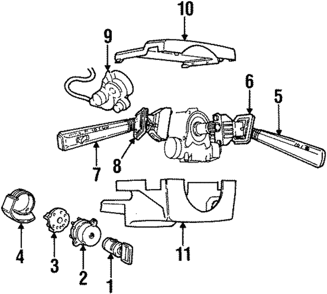 Volvo Ignition Switch 9447803