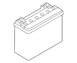Vehicle Battery - BMW (61-21-9-321-815)