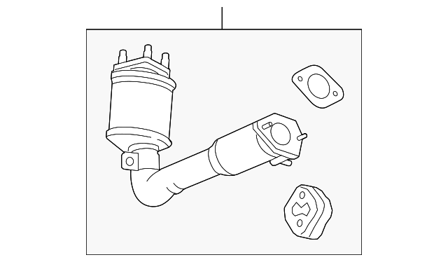 2012 2015 Chevrolet Captiva Sport Catalytic Converter