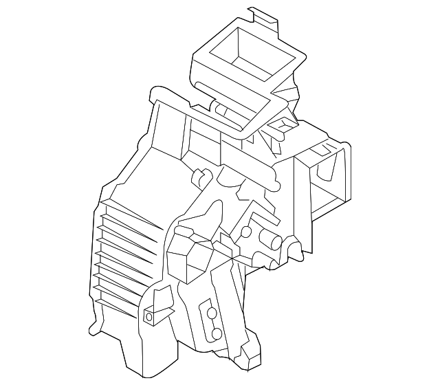 2015 2018 Kia Sedona Ac Heater Case 97135 A9300