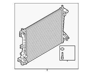 Radiator - Ford (CR3Z-8005-A)
