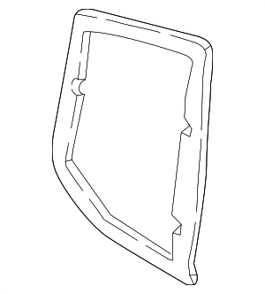 Tail Lamp Assembly Gasket - Mercedes-Benz (205-826-04-91)