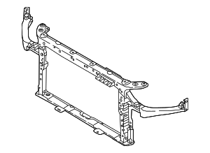 Radiator Support - Hyundai (64101-G2000)