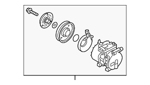 Compressor Assembly - Hyundai (97701-2V001)