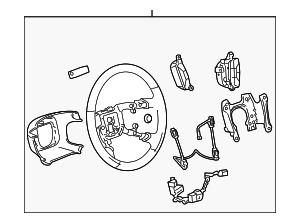 Steering Wheel - GM (25924624)