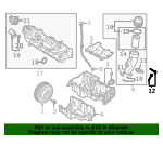 Oil Filter Housing Screw - Land-Rover (LR073673)