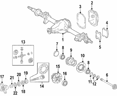 Differential For 2006 Dodge Sprinter 3500