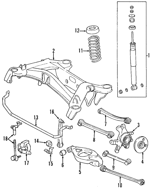 Thrust Arm - Mercedes-Benz (124-350-01-29)