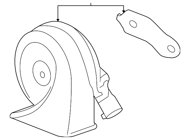 Gm High Note Horn 19301083 likewise Buick Lucerne 2008 2011 Engine Diagram additionally 4lejp Trying Replace Steering Wheel 2000 Intrigue furthermore 2013 Chevy Truck Rear Bumper Parts furthermore PD8a 17607. on buick lacrosse horn