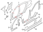 Rocker Reinforced - BMW (41-21-7-238-622)