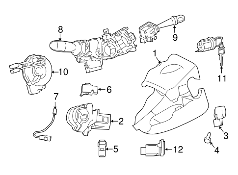 ELECTRICAL/ANTI-THEFT COMPONENTS for 2015 Scion tC #1