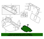 Floor Mat - Mitsubishi (MR951543)