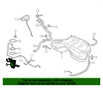 Fuel Sender Unit - Jaguar (C2P12142)