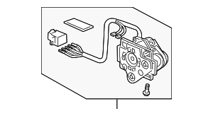Actuator, R (R1400) (Heated) - Honda (76210-TA0-A11)