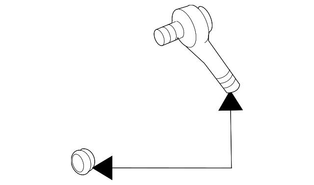 1994 2005 Gm Inner Tie Rod 12471301