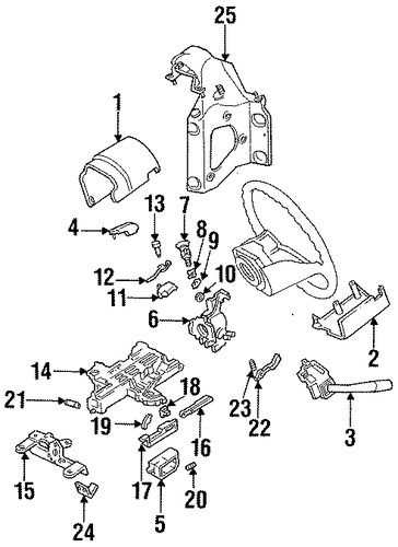 ignition lock for 1995 ford f