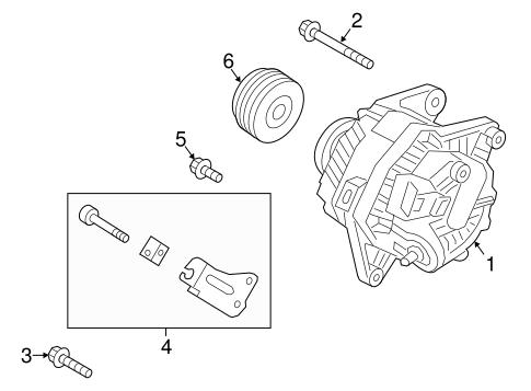 Hyundai Elantra Alternator