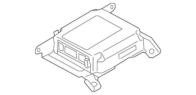 2004 2005 Subaru Forester Diagnostic Module 98221sa080