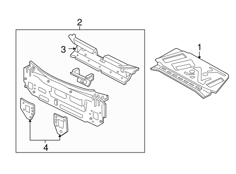 Ford Rear Body Panel Ys4z6140320ba also Radish Seed Diagram additionally  on ford focus zx5 hatchback