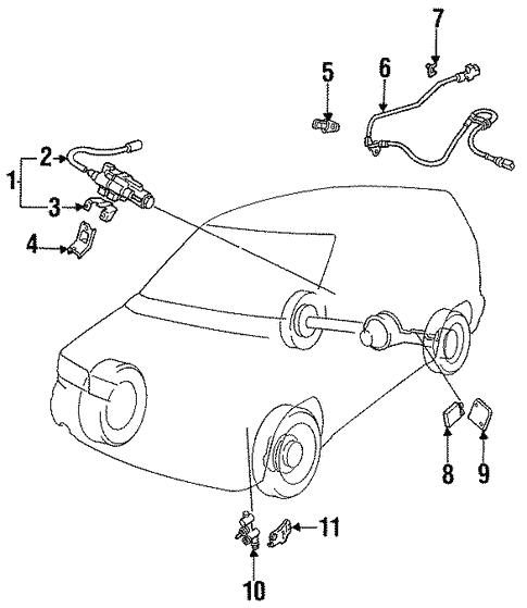 Abs Components For 1994 Mazda Mpv Realmazdaparts Com