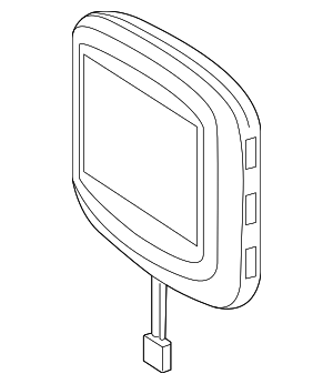 Monitor - Mercedes-Benz (212-870-50-89)