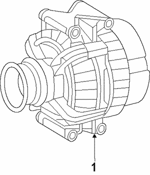 Alternator - Mopar (4801250AD)