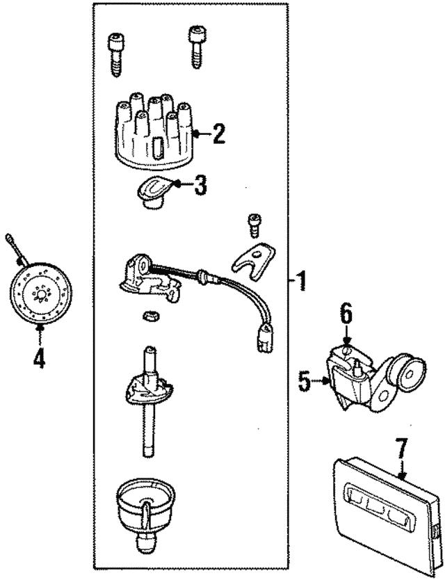 1997 2003 Mopar Crankshaft Position Sensor 56027870